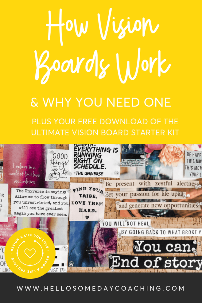 Design a Life You Love with Vision Boards