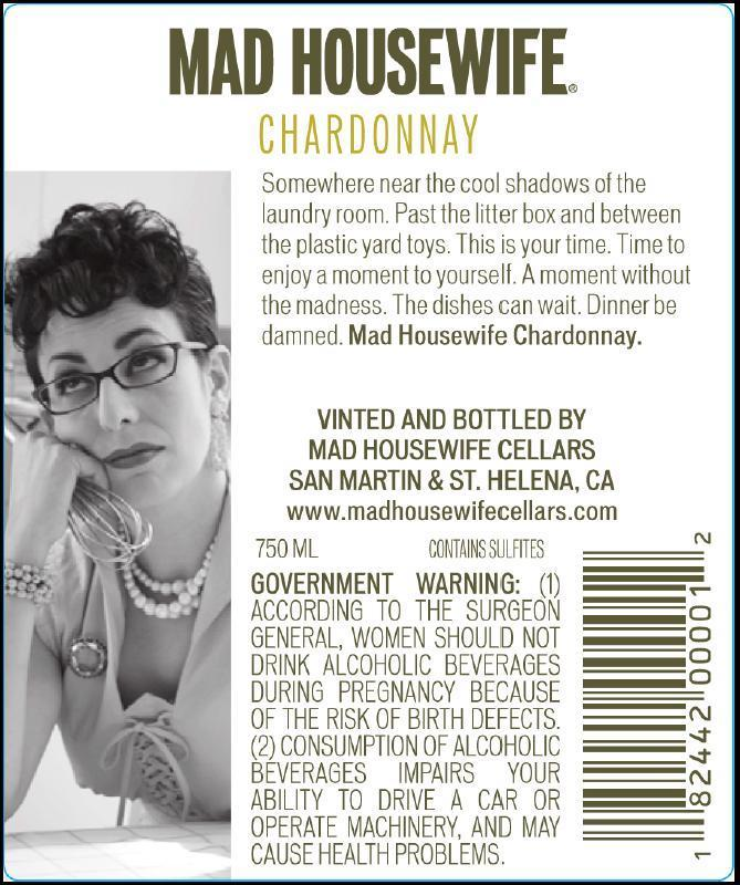 Wine Mom Culture Mad Housewife Wine, Marketing Mommy's Little Helper To Women.