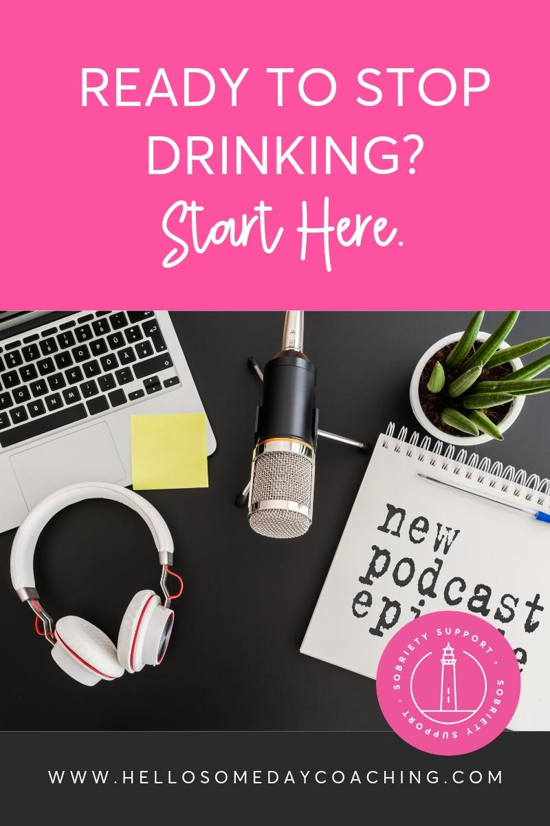 READY TO STOP DRINKING? START HERE.