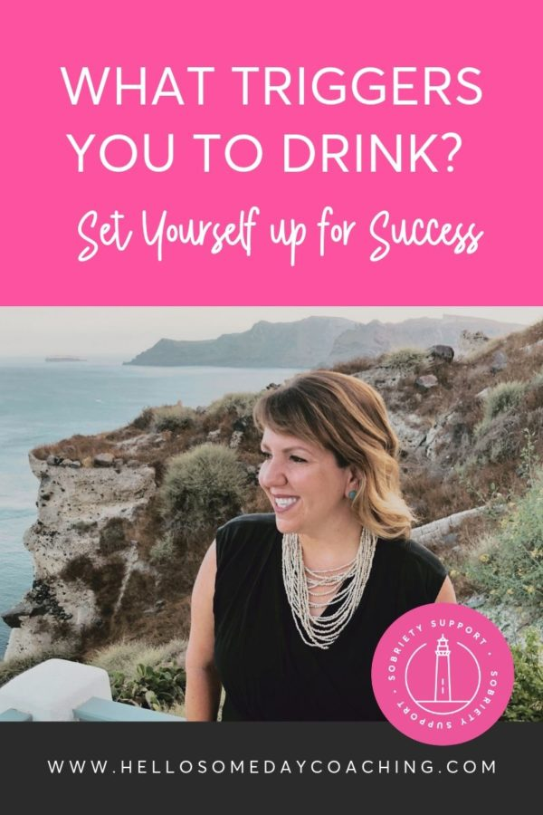 Blog + Audio |What Triggers You To Drink and What Can You Do About It?