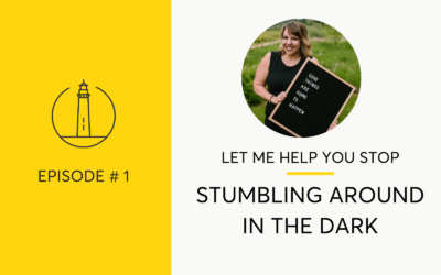 How To Stop Stumbling Around In The Dark When Quitting Drinking
