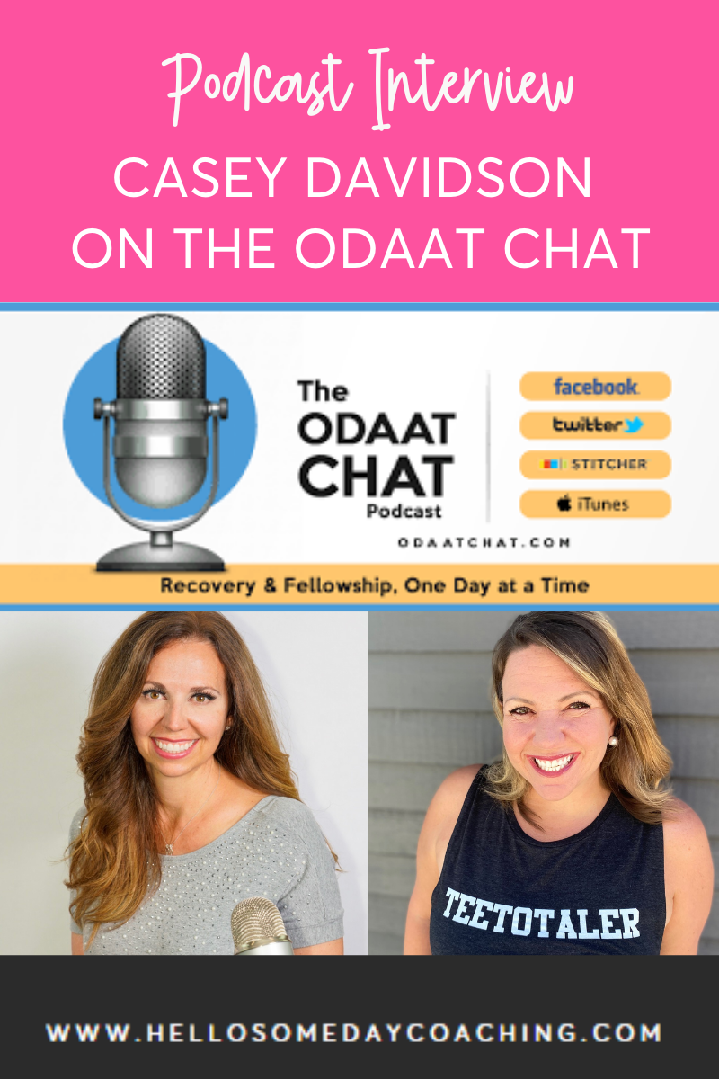 Casey McGuire Davidson Podcast Interview on The ODAAT Chat with Arlina Allen