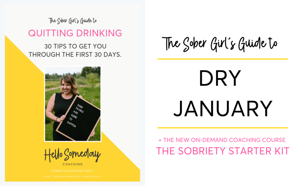 The Sober Girl's Guide To Dry January