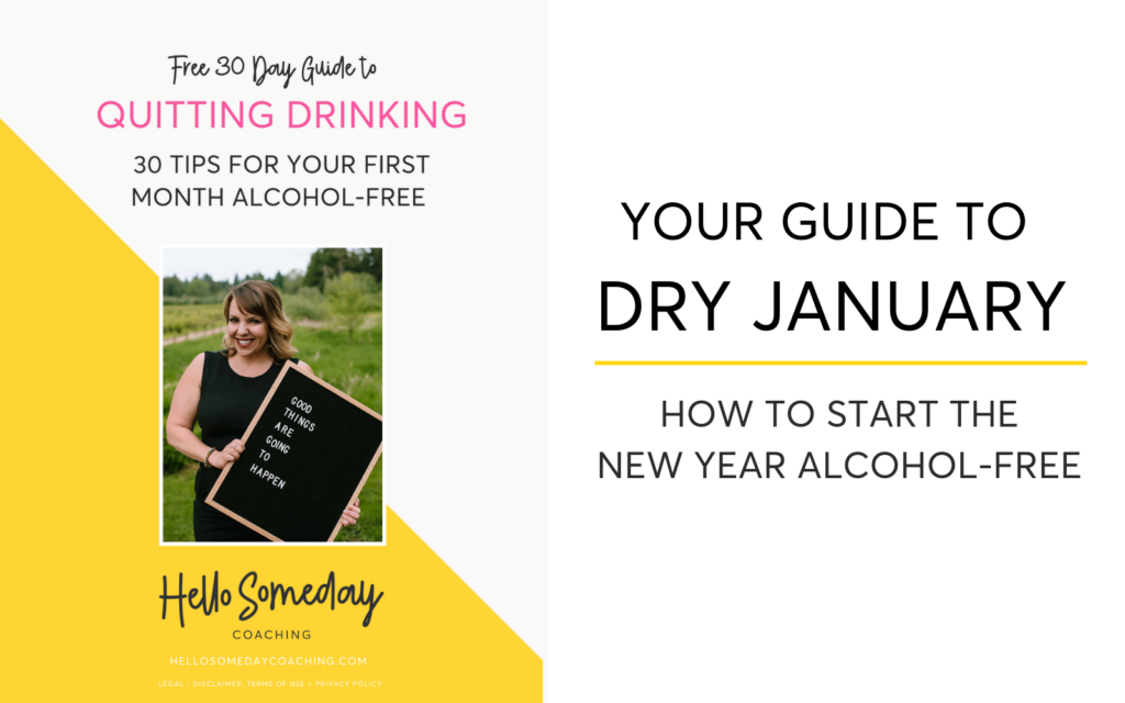 Your Guide To Dry January. How To Start The New Year Alcohol-Free.