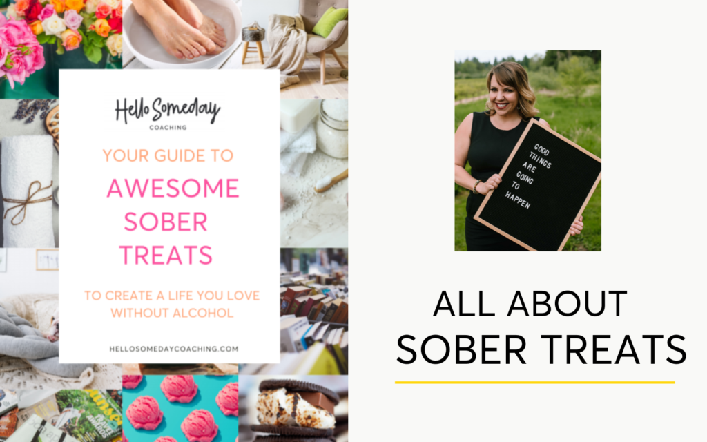 Why you need sober treats when you're quitting drinking