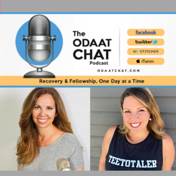 The ODAAT CHAT Podcast on women and drinking with Casey McGuire Davidson of The Hello Someday Podcast